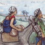 Kamerun-Karten Flucht aus Ägypten