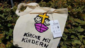 stofftasche weiß mit logo kinderkirche