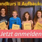 Teilnehmer Grundkurs II