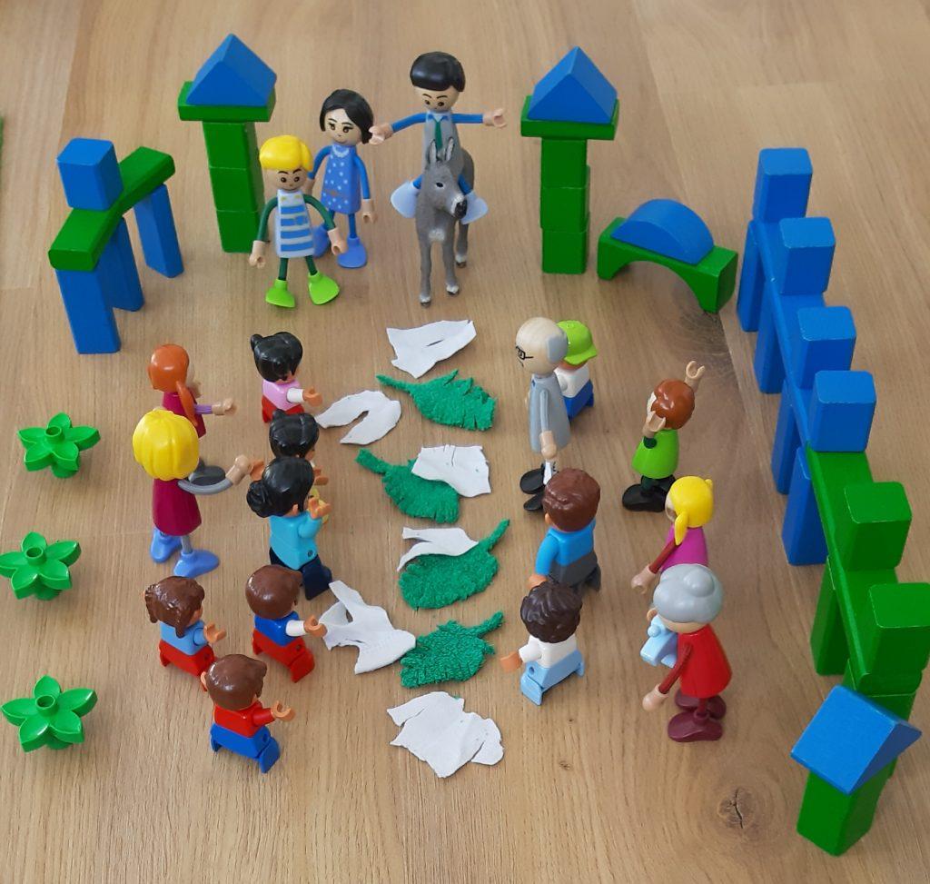 Lego Figuren Palmsonntag